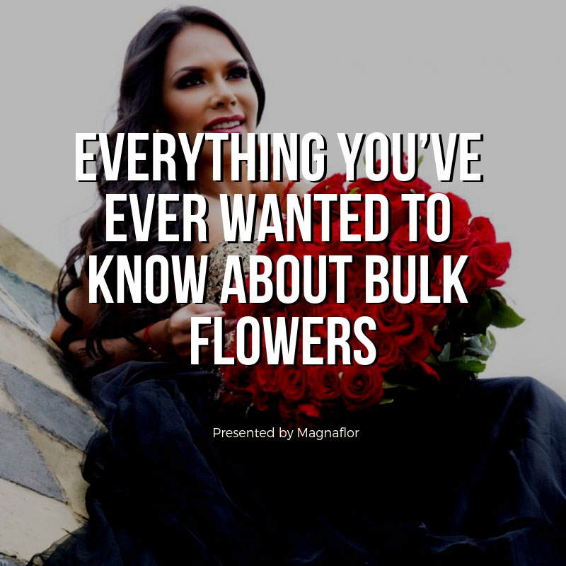 Everything You've Ever Wanted To Know About Bulk Flowers And Wholesale Roses
