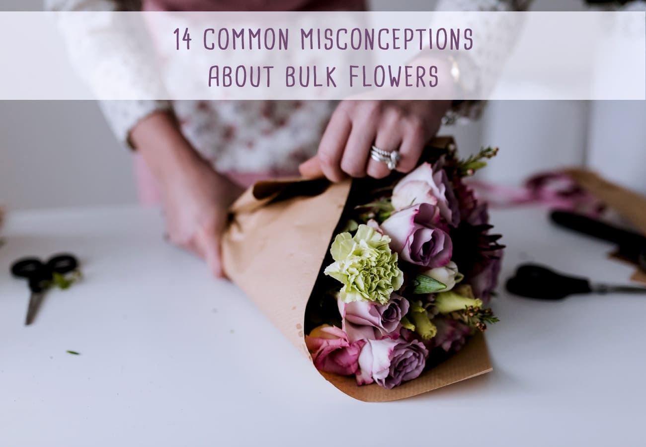 14 Common Misconceptions About Bulk Flowers